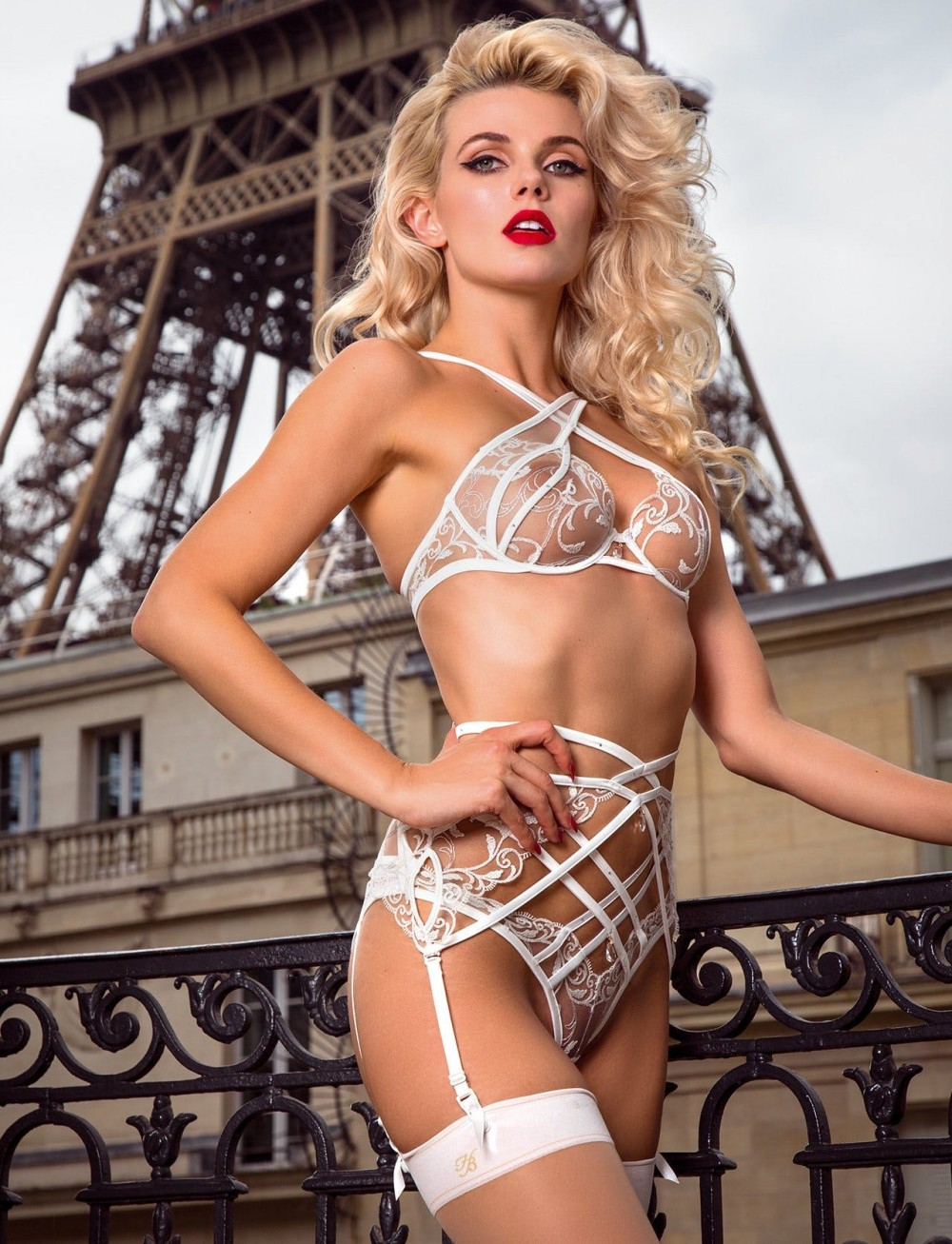 Honey Birdette - Paris Campaign